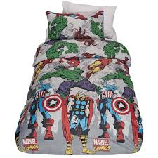 Marvel Double Duvet Cover Marvel Duvet Cover Set Comic The Warehouse