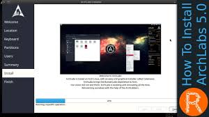 arch labs how to install archlabs 5 0 youtube