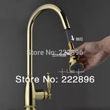 Kitchen Faucet Discount by Discount Gold Pull Out Kitchen Faucet 2017 Gold Pull Out Kitchen