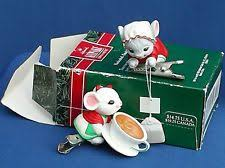 charming tails jingle bells mouse ornaments set of