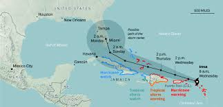 Map Of Florida And Bahamas by Irma Menaces Bahamas And Cuba On Course Toward Florida News