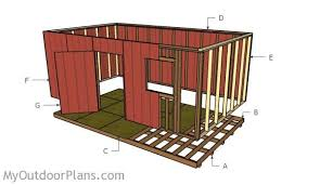 Diy Wooden Shed Plans by 12x20 Shed Plans Myoutdoorplans Free Woodworking Plans And