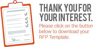 website design rfp template sample request for proposal