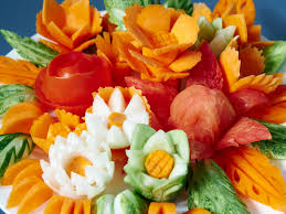 fruit and vegetable carving courses for all levels from beginner