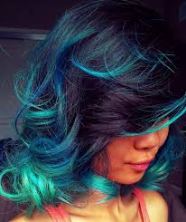 Colorful Hair Dye Ideas 101 Real Girls Who Dare To Rock Rainbow Hair Dark Red Hair Blue