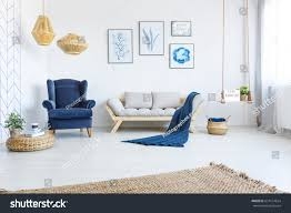 white home interiors white home interior sofa armchair posters stock photo 637114624