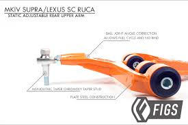 lexus ls430 lower control arm rear upper control arm vip and correcting mkiv supra sc300 400 gs300