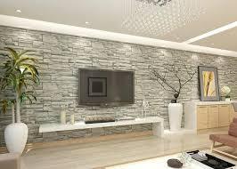 brick wallpaper living room vinyl faux white brick wallpaper for