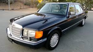 mercedes 420sel 1990 mercedes w126 420sel saloon 1 owner low nr mint hd