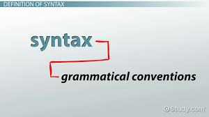 syntax in writing definition u0026 examples video u0026 lesson