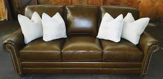 king hickory leather sofa barnett furniture king hickory winston