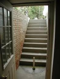 exterior stairwell basement doors pasadena md