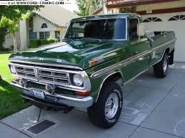 1972 ford f250 cer special cars auto cars and other stuff dudepins com site