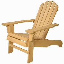 Outdoor Adirondack Chairs New Outdoor Natural Fir Wood Adirondack Chair Patio Lawn Deck