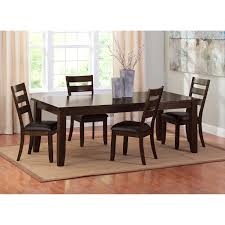 abaco dining table brown value city furniture