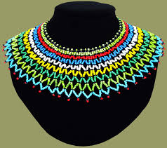 african bead necklace images Traditional african beadwork necklaces beaded necklaces african jpg