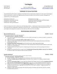 sharepoint resume ted hagler microsoft sharepoint resume