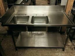 Stainless Steel Sinks Sink Benches Commercial Kitchen Stainless Steel Commercial Kitchen Sinks Restaurant Commercial