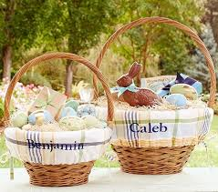 Pottery Barn Baskets With Liners 290 Best Easter Baskets Images On Pinterest Easter Baskets