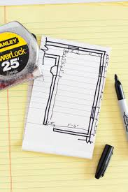 draw a floor plan how to draw a floor plan a beautiful mess