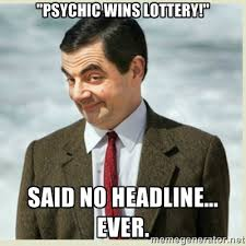 Psychic Meme - 2016 predictions from a legit psychic the phil factor