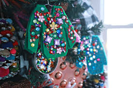 Christmas Sweater Party Ideas - ugly christmas sweater ornaments aunt peaches