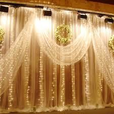 Christmas Window Lights Decorations Uk by String Window Fairy Light Twinkling Star Curtain Lignting Wedding