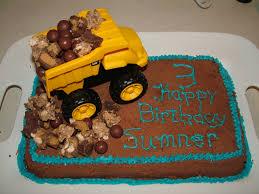 dump truck cake boy birthday cake kids cake decorated cakes