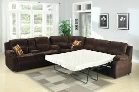 Leather Sectional Sleeper Sofa With Chaise Sleeper Sectional With Chaise Furniture Modern Gray Sectional