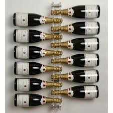 acrylic and stainless steel wine spine 12 bottle wall mounted wine