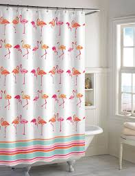 In Store Curtains Destinations Flamingo Shower Curtain Stage Stores