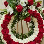cheap funeral flowers it s my partyteleflora in los angeles ca bel air flowers