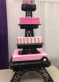 Eiffel Tower Decoration Quinceanera Cake Eiffel Tower