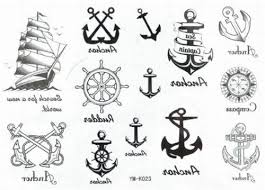 Nautical Tattoos by Black Ink Sailor Anchor Tattoo Flash Anchor Tattoo Flash Black