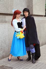 clever halloween costume ideas for couples ariel and eric cosplay by arielvandekamp got say this is a fun