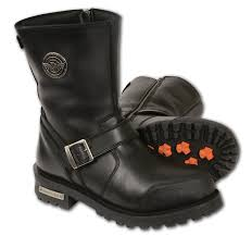 mbm9090 milwaukee leather men u0027s classic boots with buckle detail