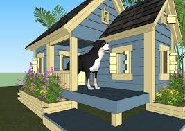 home garden plans dog houses