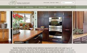 Marsh Kitchen Cabinets Marsh Furniture Website Red Letter Marketing Greensboro
