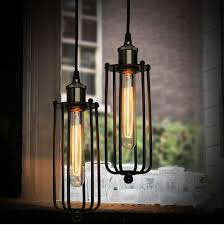 Retro Hanging Light Fixtures Vintage Edison Industrial Ceiling Pendant L Hanging