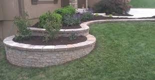 drainage retaining walls gordon u0027s landscaping overland park ks