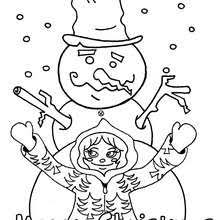 snowman coloring pages 20 xmas coloring books printables