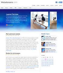 business web templates for tablet surface and ipad