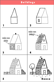 house to draw step by step house drawing try it draw with rich