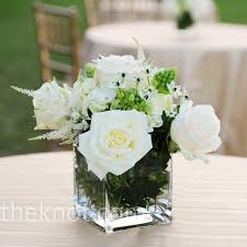 50th anniversary centerpieces white rose centerpieces 50th