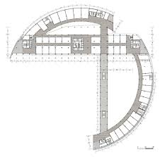 Amphitheater Floor Plan by Shanghai Zhangpu Civic Center In China By Kdg Group Inc