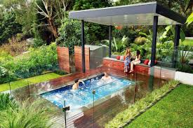 Backyard Pools And Spas by Small Inground Pools Ideas