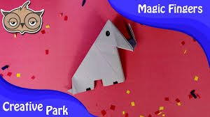 diy crafts how to make an easy paper origami elephant for kids