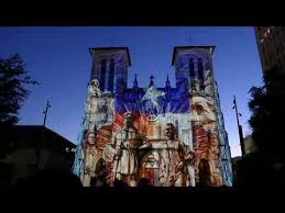 san fernando cathedral light show san fernando church