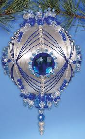 561 best beaded ornaments 4 images on beaded