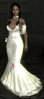 wedding dress skyrim skyrim mods highlights unpb half vire wedding dress
